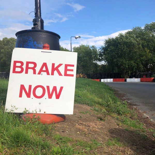 Safety at Stretton Circuit, National Karting Association