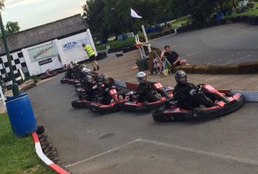 Arrive and drive adult go kart racing at Stretton Circuit